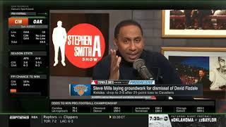 Stephen A. on Steve Mills laying groundwork for dismissal of David Fizdale
