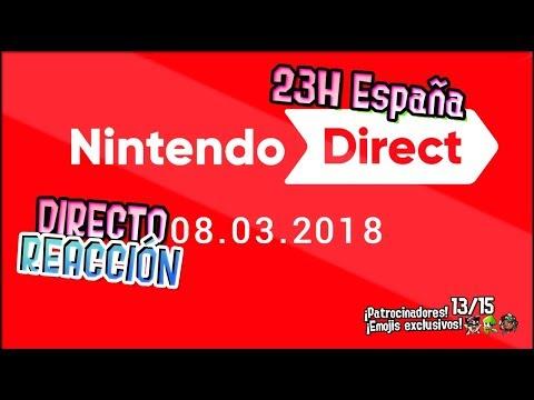 ¡NINTENDO DIRECT REACCIÓN! | Nintendo Direct