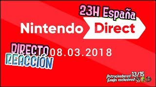 ¡NINTENDO DIRECT REACCIÓN! | Nintendo Direct