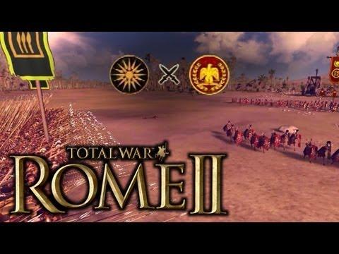 "JUGANDO Rome 2 Total War - ""Duelo con Macedonia contra Roma"""