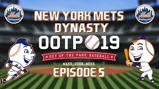 Out of the Park Baseball (OOTP) 19: New York Mets Dynasty - 2018 NLDS [EP5]
