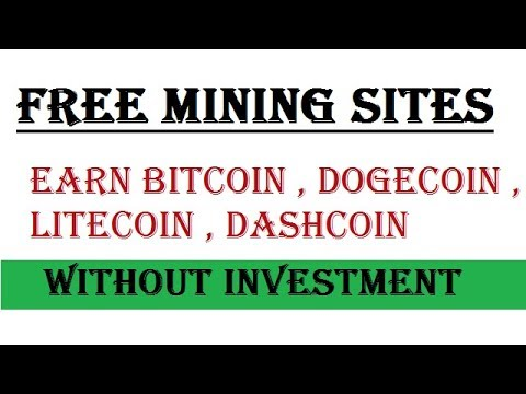 Mine All Crypto Currency - Free Cloud Mining Sites - Earn Bitcoin Without Investment