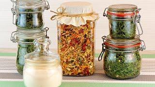 Универсальная сухая ароматная приправа из овощей и зелени Сушеный чеснок Сухой овощной бульон
