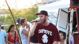 Gabriel Flash - São Paulo (Ao vivo no Rap Móvel no Metrô Penha - SP)