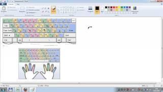 Слепой метод печати на клавиатуре