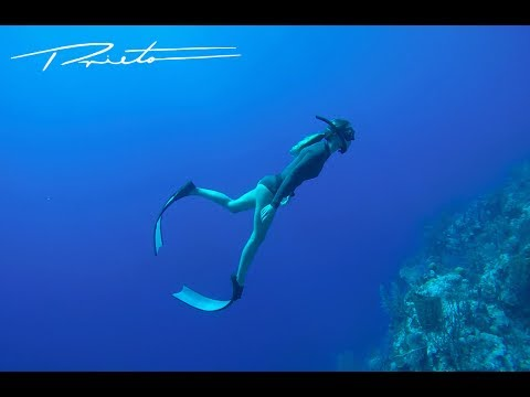 FREE DIVING FREEDIVERS BLUE OCEAN HD