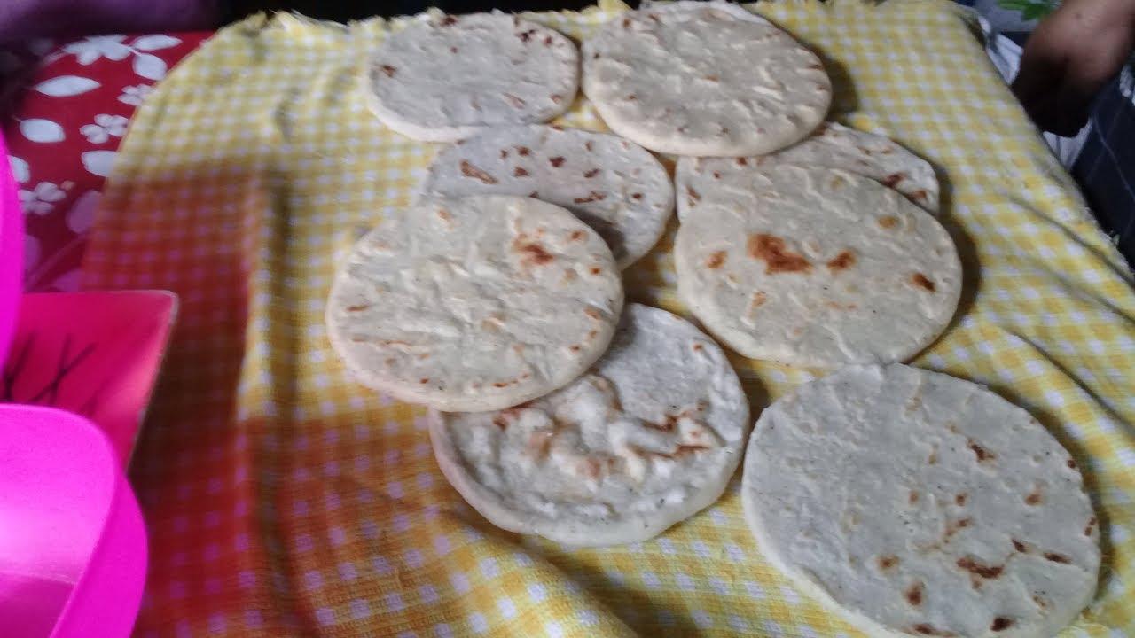 Como Hacer Tortillas Rellenas Con Pollo Y Queso Parte 1 El Salvador 4x4 Youtube