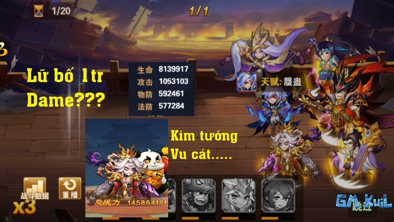 OMG 3Q China || Kim tướng, Tướng vàng Vu Cát omg 3q. Cùng soi top 5 sv china  và dame cực cao.