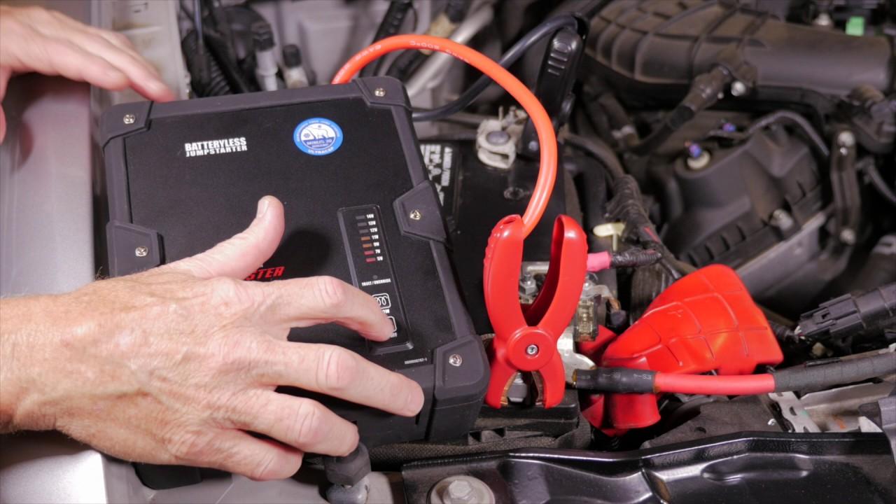 Matco Tools Ultra Cap Batteryless Jumpstarter - DSR108