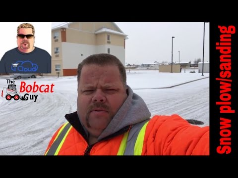 re-make video: lite snow plowing /fisher sander
