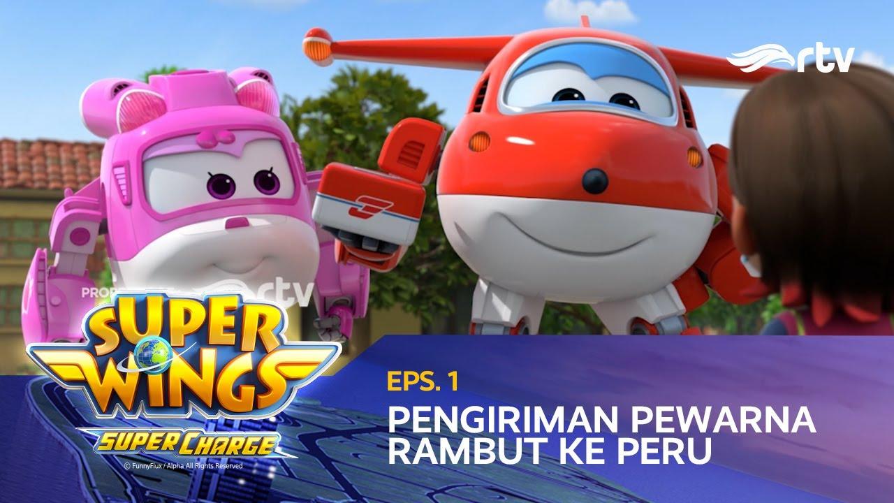 super wings indonesia rtv  pengiriman pewarna rambut ke
