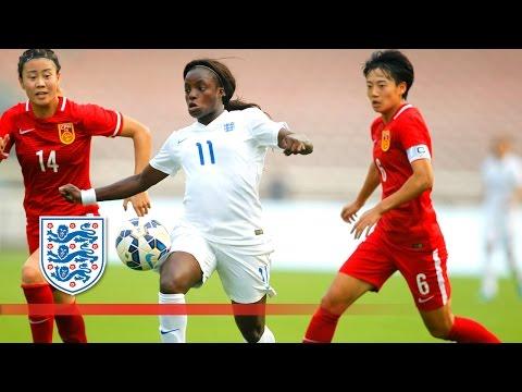 England Women 12 China Women  Goals & Highlights