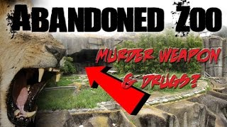 (WEAPONS & DRUGS FOUND) OVERNIGHT AT ABANDONED ZOO!  24 HOUR OVERNIGHT CHALLENGE thumbnail