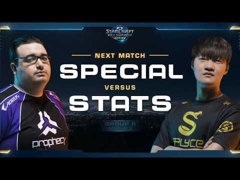 Stats vs SpeCial PvT - Group A - WCS Global Finals 2017 - StarCraft II