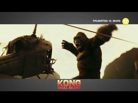 Kong Skull Island frumsýnd 10.mars