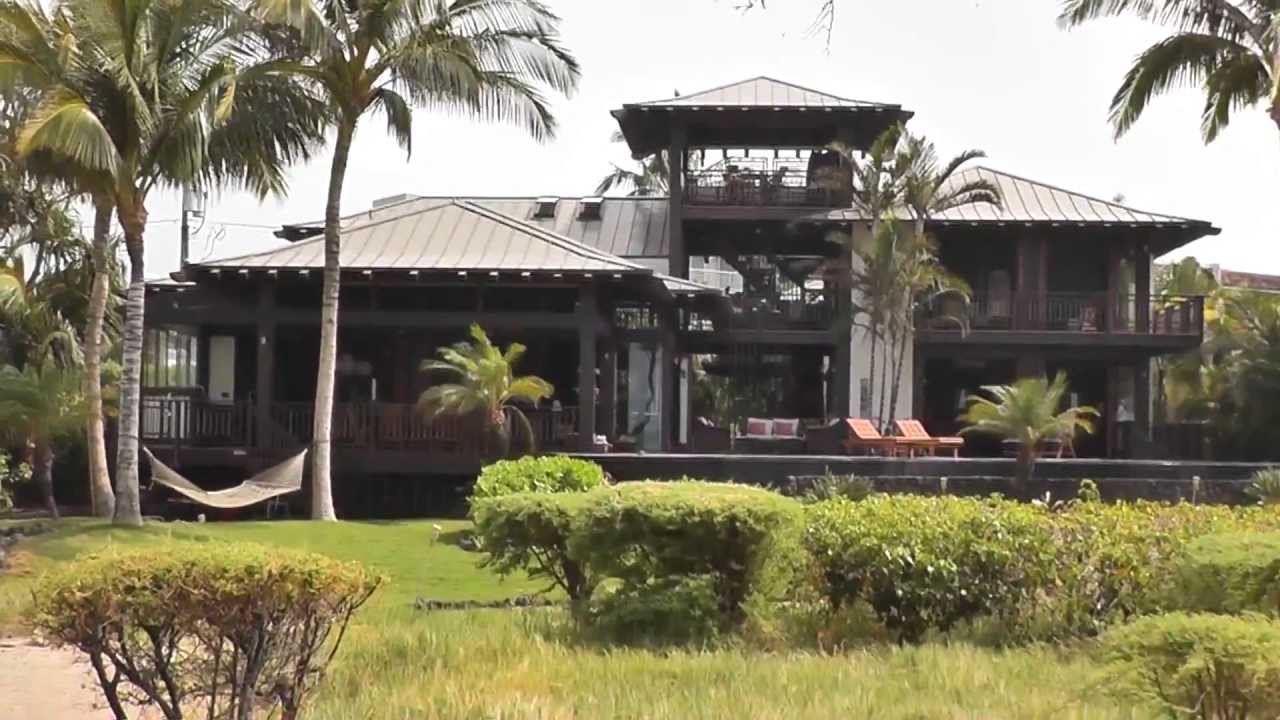 Hawaiian beach house tour youtube for Hawaii package homes