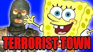 TTT SPONGEBOB SQUAREPANTS Mod! (Trouble in Terrorist Town)