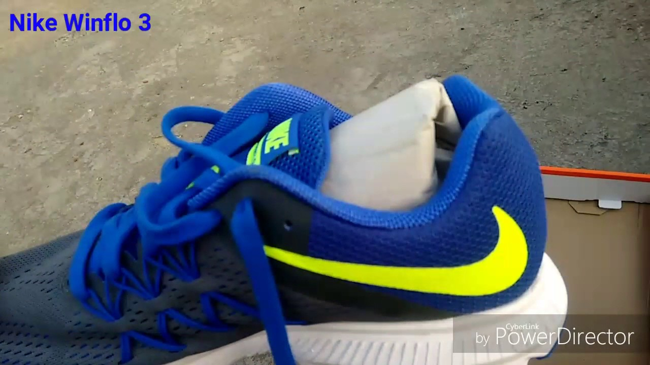 Expensive (unboxing+review) zapatos Nike Winflo 3 (unboxing+review) Expensive YouTube 7787cd