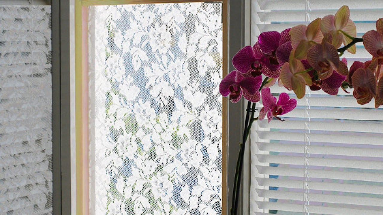 Make A Lace Curtain Fly Screen Diy Home Guidecentral