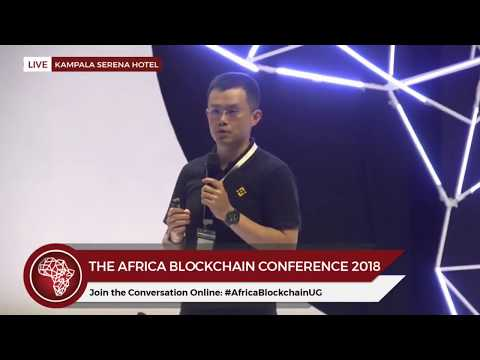 Binance CEO CZ at the Africa Blockchain Conference 2018
