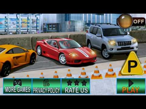 Luxury multi level car parking 2018 new games - 동영상