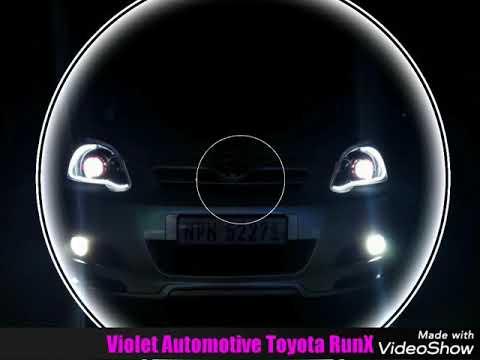 Toyota RunX Custom Designed Headlights By Violet Automotive