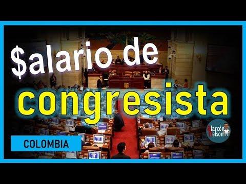 Esto es lo que gana un congresista en Colombia - 2019