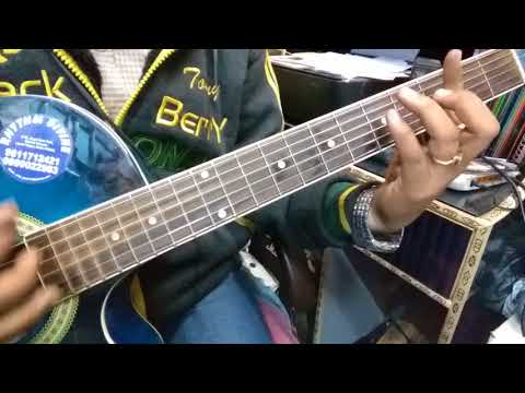 Chithi Na Koi Sandesh Guitar Cover!! Jagjit Singh.
