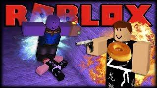 THE BIZARRE LABYRINTH OF THANOS!! -ROBLOX Thanos Maze