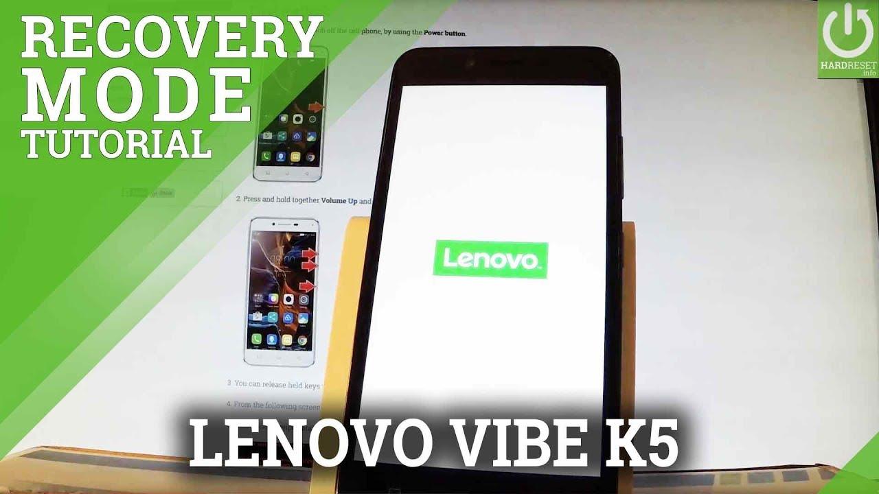 Recovery Mode LENOVO A1000 - HardReset info
