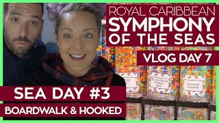 Boardwalk Carousel, Hooked and Ice Skating | Symphony of the Seas Cruise Vlog Day 7