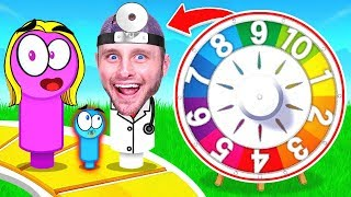 I MEET MY NEW CHILD! (Game Of Life)