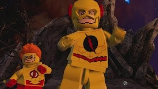 LEGO Batman 3 - Reverse Flash & Kid Flash (Unlock Location & Gameplay)