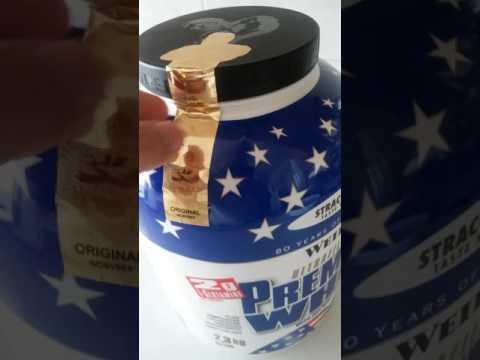 Weider Premium Whey Kutu Açılımı (unboxing Weider Premium Whey Stracciatella)