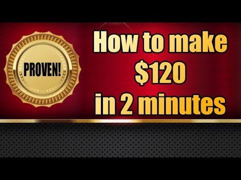 High Volatility Trading EURUSD - How to make $120 in 2 min.