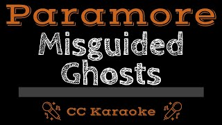Paramore Misguided Ghosts CC Karaoke Instrumental