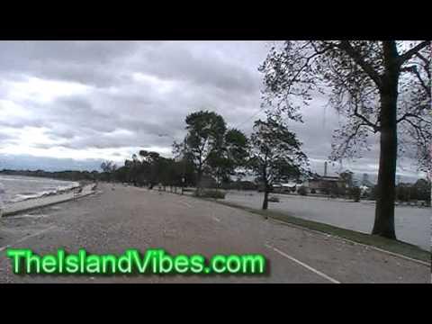 Hurricane Irene Aftermath At Sea Side Park [Bpt, CT] Aug 28, 2011