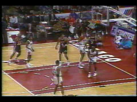 Steve Smith Serves Michael Jordan with Spin-Move Dunk plus And One (Rare!)