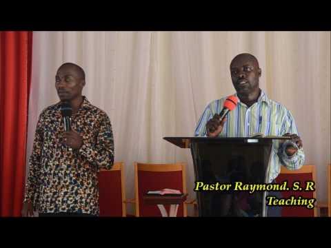 Pastor Raymond Ssekyanzi Rick.  07.02.2017.