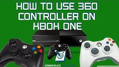 HOW TO USE 360 CONTROLLER ON XBOX ONE (FREE) || NO DONGLE