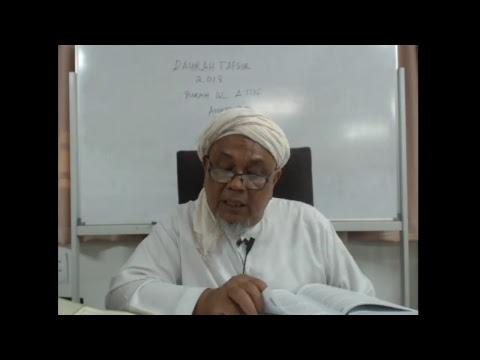 Download Daurah tafsir quran di madrasah tafsir sunnah 2018 sesi malam  (21-5-2018)