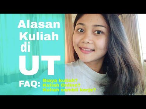 Alasan Kuliah Di UT - Universitas Terbuka (Biaya Kuliah, Seputar Kuliah Online, Kuliah Sambil Kerja?