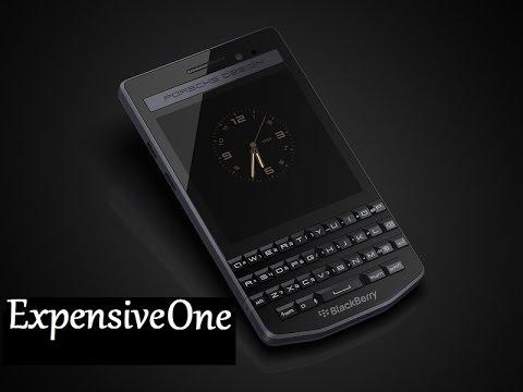 A closer look at the Porsche Design Blackberry P'9983 Graphite
