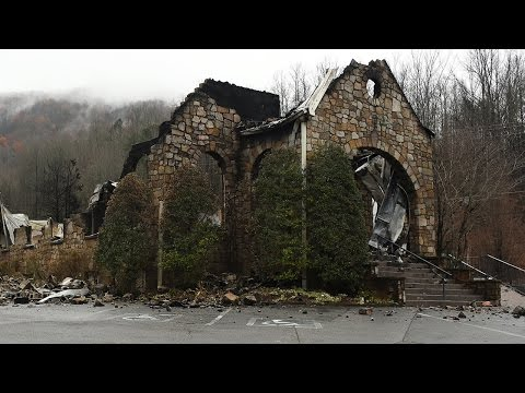 Gatlinburg- Before and After the Fire