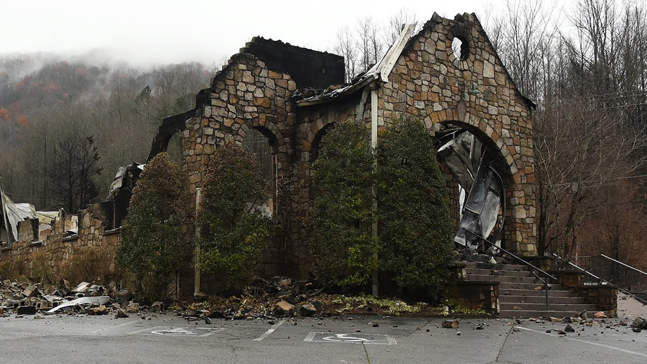 Gatlinburg Before And After The Fire Youtube