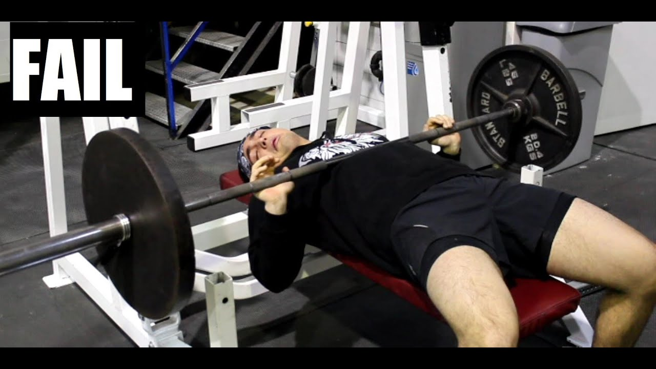 How to Safely Bench Press HEAVY Alone (Without a Spotter) - YouTube