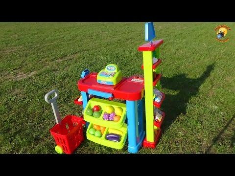 Детский супермаркет–игровой набор магазин/ Supermarket-children's Play Set
