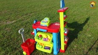 Детский супермаркет–игровой набор магазин/ Supermarket-children's play set(, 2015-04-17T23:19:09.000Z)