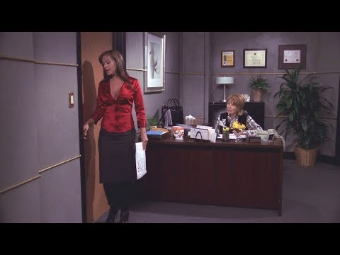 Leah Remini shows some real sexy boots and cleavage [King of Queens]