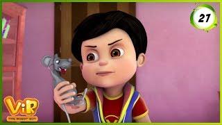Vir: The Robot Boy | The Lady Jinn Part - 2 | Action Show for Kids | 3D cartoons